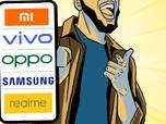 Xiaomi, Oppo, Vivo dan Samsung, Siapa Raja Pasar Ponsel RI?
