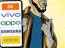 Duh! Ponsel Samsung Keok Lawan 'Jagoan Lokal' China Ini