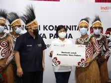 Menteri Erick & IndiHome Semangati Komunitas Binaan di Papua