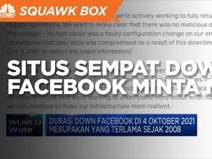 Situs Sempat Down, Facebook Minta Maaf
