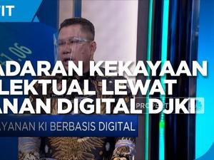 Dorong Kesadaran Kekayaan Intelektual Lewat Digitalisasi DJKI