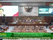 Paripurna DPR Soal UU Pajak, Sri Mulyani Muncul dari AS