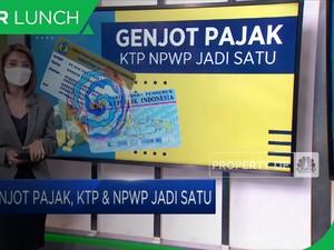 Genjot Pajak, KTP & NPWP Jadi Satu