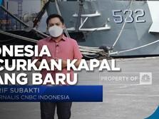 Indonesia Luncurkan Kapal Perang KRI Golok 688