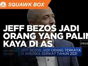 Jeff Bezos Jadi Orang yang Paling Kaya di AS
