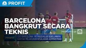 Sejak Maret 2021, Barcelona Bangkrut Secara Teknis