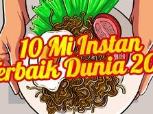 10 Mi Instan Terbaik Dunia 2021, Ada Indomie Goreng!