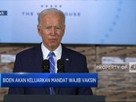 Joe Biden Akan Keluarkan Mandat Wajib Vaksin Covid-19