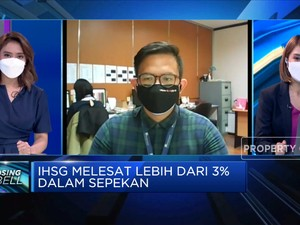 Sepekan Menguat Lebih Dari 3%, IHSG Ditutup ke Level 6.481