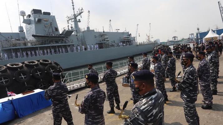 TNI AL (CNBC Indonesia/Andrean Kristianto)