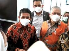 Dirut BPJS Kesehatan & Komisi IX Tinjau Faskes di Samarinda
