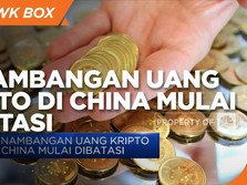 China Resmi Batasi Penambangan Uang Kripto