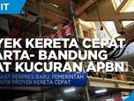 Proyek Kereta Cepat Jakarta- Bandung Dapat Kucuran APBN