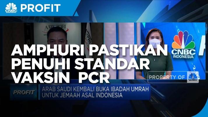 Umrah DIbuka, AMPHURI Pastikan Penuhi Standar Vaksin & PCR