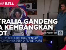 Australia Gandeng NASA Kembangkan Robot Penjelajah Ke Mars