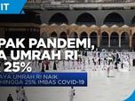 Dampak Pandemi, Tarif Umrah RI Naik 25%