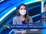 Menguat Lebih Dari 1% , IHSG Tembus Level Tertinggi 2021