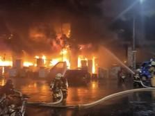 Kobaran Api Ganas Lahap Gedung di Taiwan, 46 Orang Tewas