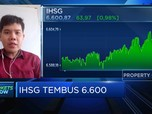 Reli Berlanjut, IHSG Awal Perdagangan Sentuh Level 6.600-an