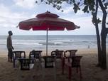 Pemandangan Bali Saat Pintu Kedatangan Internasional Dibuka