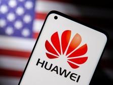 Tak Gentar Sanksi AS, Huwei Rilis Ponsel di Pasar Luar Negeri