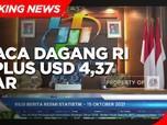 September 2021, Neraca Dagang RI Surplus USD 4,37 Miliar