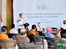 Perintah Dicuekin BUMN, Jokowi: Saya Kejar Kalau Seperti Ini!
