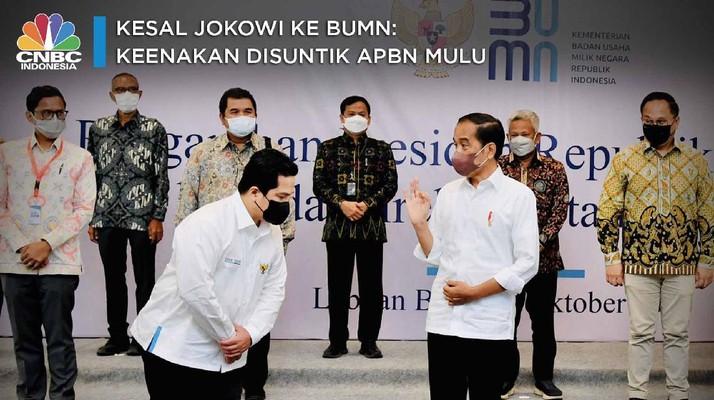 Luapan Kekesalan Jokowi ke BUMN Pecah di Labuan Bajo