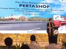 Dorong Pertashop, Menteri Erick Apresiasi UMKM & BUMDes