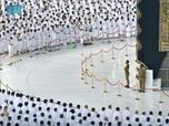 Penampakan Masjidil Haram Usai Aturan Jaga Jarak Dicabut!