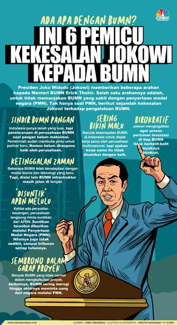 Ini yang Bikin Kekesalan Jokowi kepada BUMN Tak Terbendung!