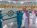 Arab Cabut Aturan Jaga Jarak di Masjidil Haram