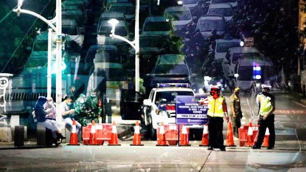 PPKM Diperpanjang, DKI Sudah Level 2