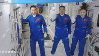 Tiba di Luar Angkasa, 3 Astronot China Siap Jalani Misi Terlama