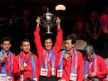 Kesuksesan RI di Thomas Cup yang Sempat Bikin Jokowi 'Tegang'