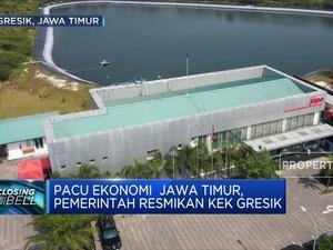 Pacu Ekonomi Jawa Timur, Pemerintah Resmikan KEK Gresik