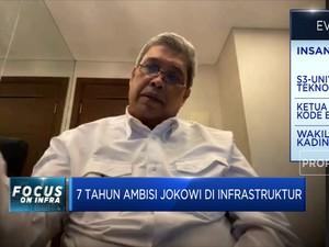 Kadin: 7 Tahun Jokowi, Infrastruktur Alami Lombatan Besar