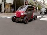 Canggih! Mobil Listrik Buatan Israel Ini Bisa 'Dilipat'