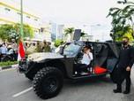 Gaya Gagah Jokowi Tunggangi Rantis P6 ATAV V1 Paspampres
