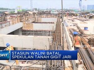 Stasiun Walini KCJB Batal Dibangun, Spekulan Tanah Gigit Jari