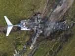 Hangus Terbakar, Jet Pribadi Tabrak Pagar saat Lepas Landas