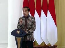 Ada Krisis, Jokowi: Daerah yang Punya Sawit-Batu Bara Seneng!