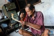 Sosok Mpe Goyong, Seniman Tehyan Satu-satunya di Tangerang