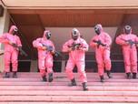 Potret Tes CPNS Kemenkumham 'Dikawal' Soldier Pink Squid Game