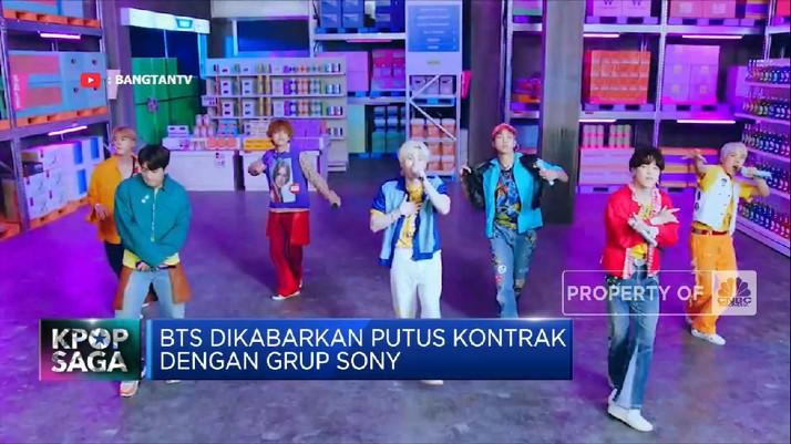 BTS Dikabarkan Putus Kontrak dengan Grup Sony