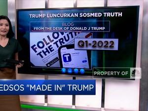 Medsos 'Made in' Trump