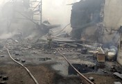 Potret Kebakaran Besar Pabrik Senjata Rusia, 15 Tewas