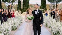 Momen Romantis Pernikahan Jennifer Gates Secara Islam