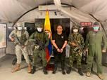 Penampakan Gembong Narkoba Kolombia Otoniel Ditangkap Tentara