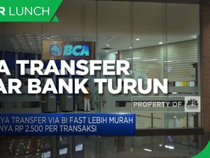 Biaya Transfer Antar Bank Turun